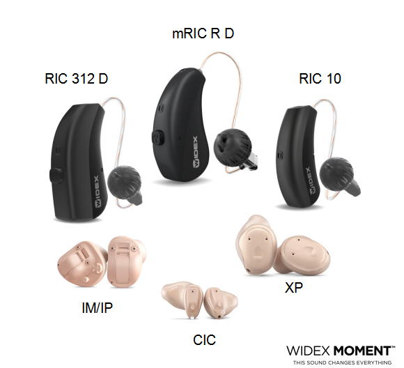 唯听助听器MOMENT极声系列